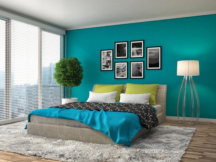 5 ألوان حوائط غرف نوم حديثة لخلق روح و إطلالة جميلة   ديكورموز