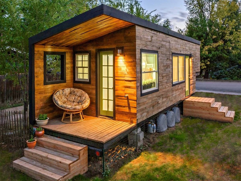 واجهات منازل صغيرة وبسيطة