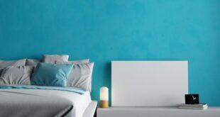 حوائط بالون الأزرق