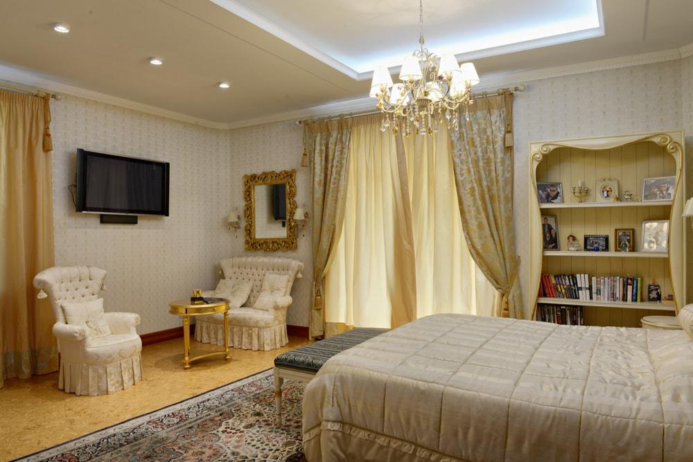 ديكور جبس غرف نوم رومانسية