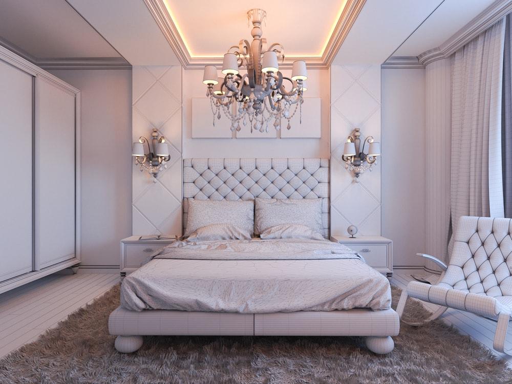 أفكار ديكورات جبس غرف نوم رومانسية مميزة و جميلة بالصور   ديكورموز