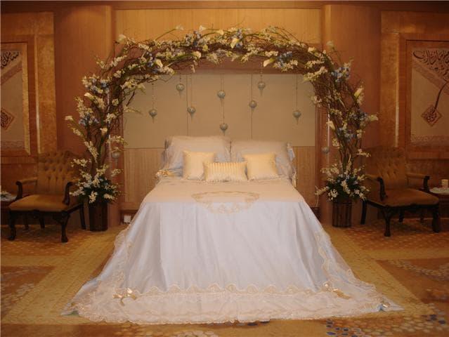 ترتيب غرفة النوم بطريقة رومانسية