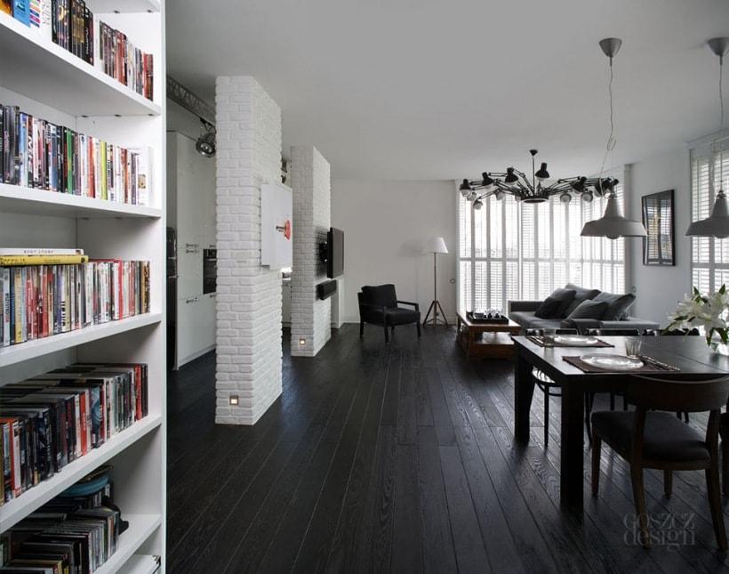 تصاميم جميلة لمنازل صغيرة 100 متر مربع