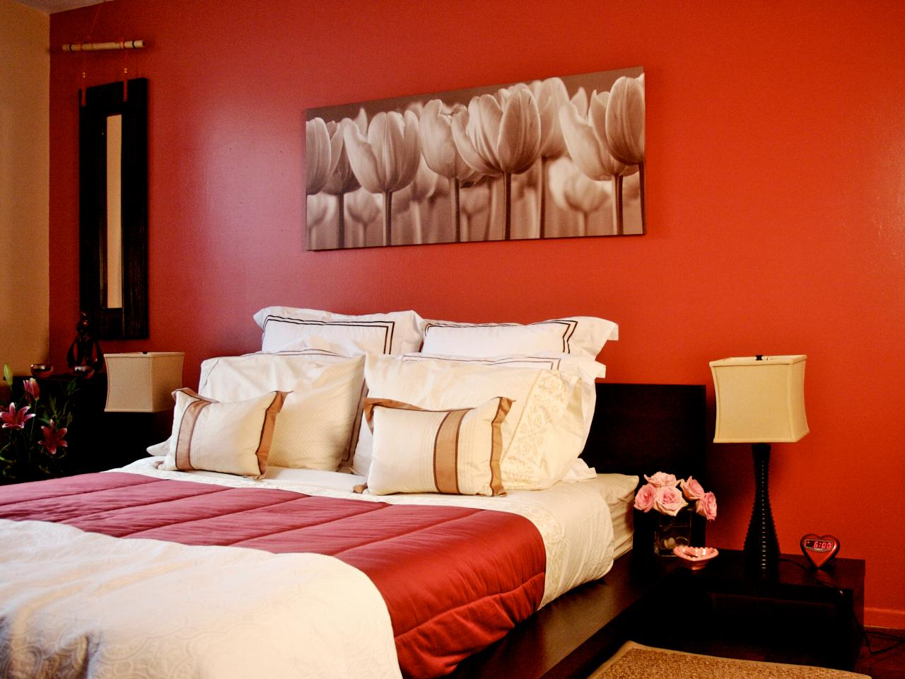 صور ديكورات رائعة بدهانات حوائط باللون البيج والنبيتي