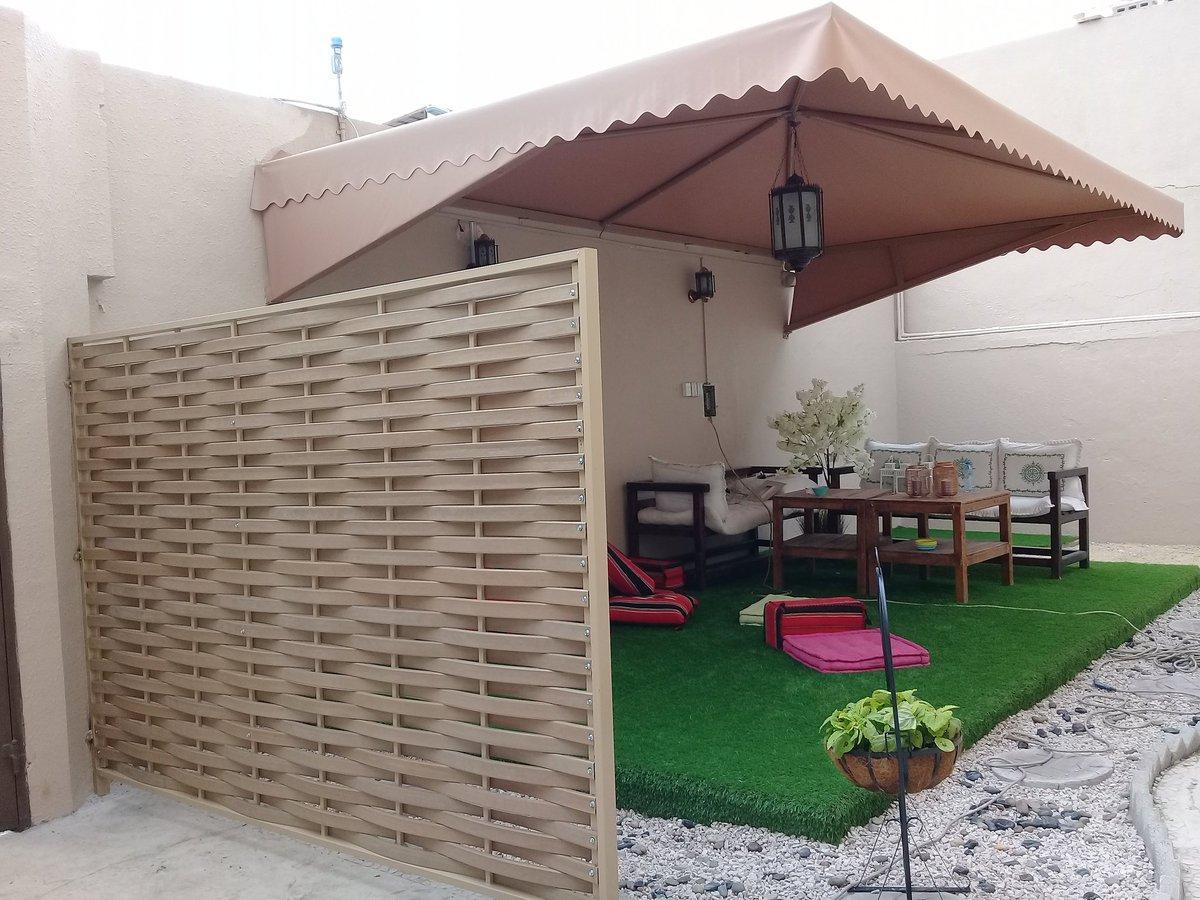 اشكال مظلات حدائق منزلية (2)