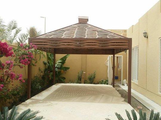 اشكال مظلات حدائق منزلية (7)