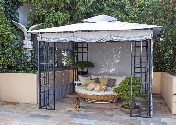 اشكال مظلات حدائق منزلية (8)