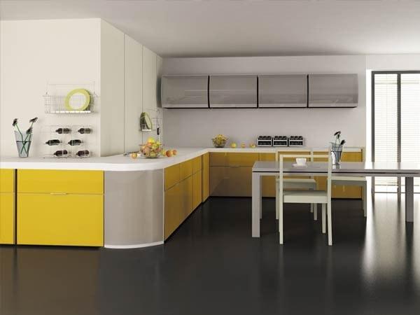 تصاميم مطابخ المنيوم حديثة (1)