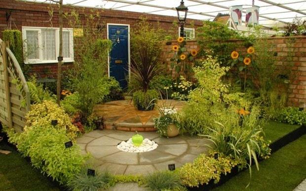 تصميم حديقة منزلية صغيرة (1)