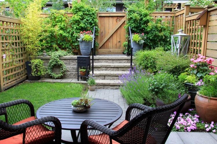 حديقة منزلية صغيرة (1)