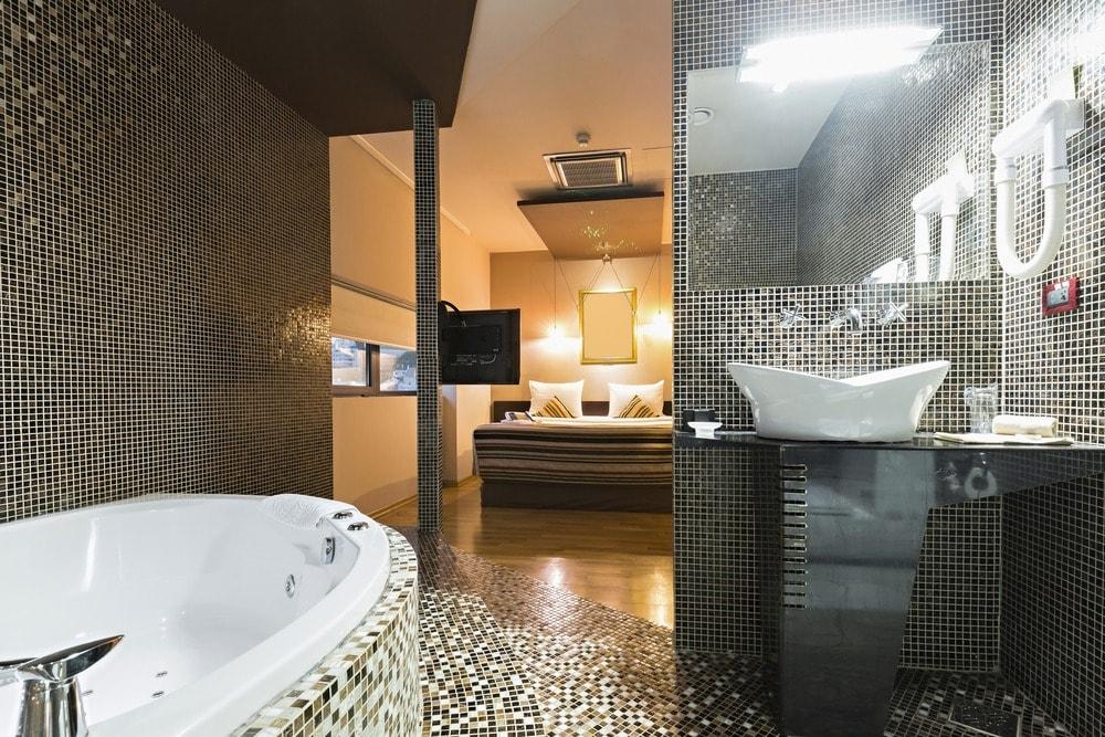 حمامات خاصه لغرف النوم (2)