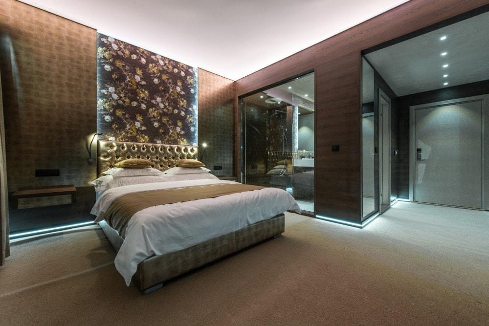 حمامات زجاج داخل غرف النوم (5)