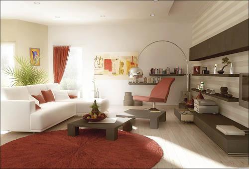ديكورات غرفة المعيشة