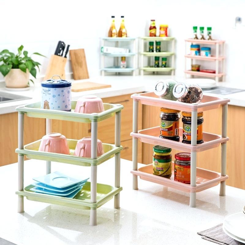 رفوف بلاستيكية للمطبخ