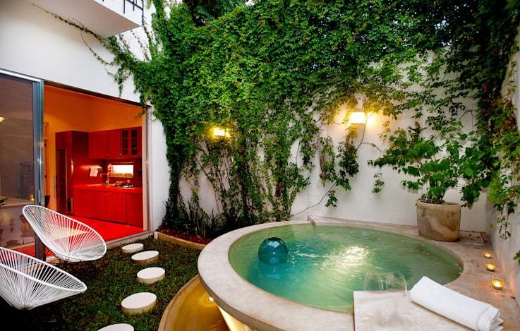 احواض سباحة منزلية