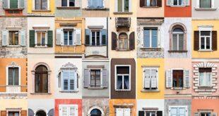 تصاميم نوافذ منازل من الخارج