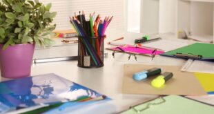 افكار لتزيين طاولة المكتب في العمل (8)