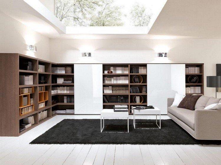 مكتبات حائط للتليفزيون (4)