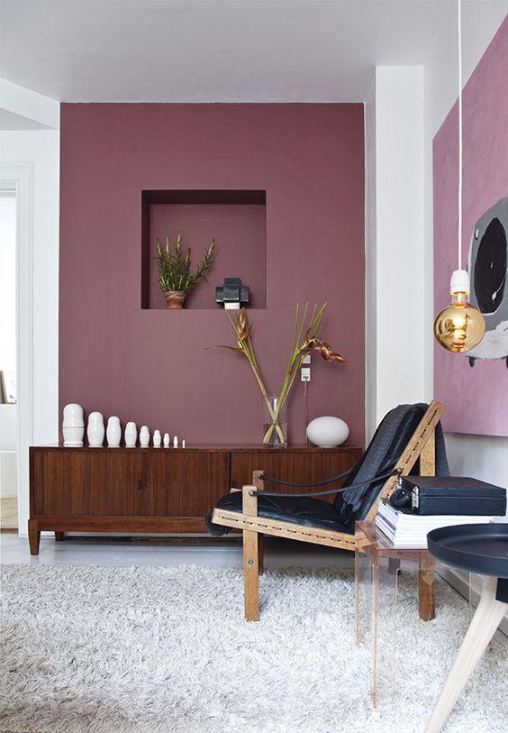 دهانات حوائط باللون الكافيه (5)