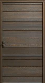 باب خشبي كامل
