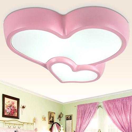 جبس غرف النوم على شكل قلب (8)