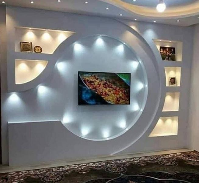 ديكور جبس تلفزيون (3)