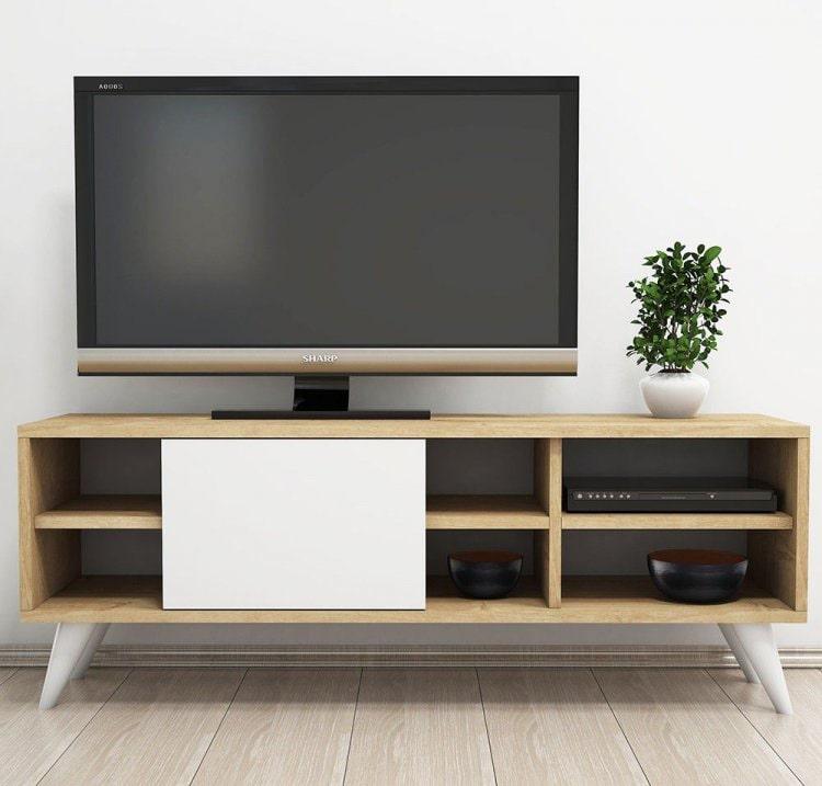 موديلات طاولات تلفزيون حديثة (1)