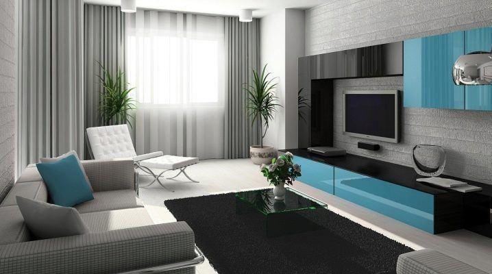 تنسيق ألوان الكنب و السجاد في غرفة المعيشة 3